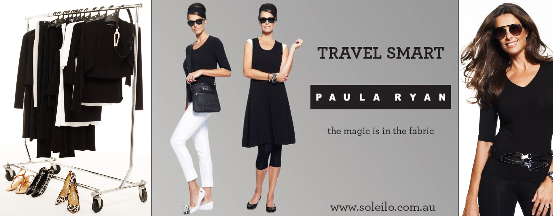 Paula Ryan TRAVEL SMART Wardrobe